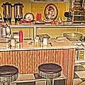 Fifty's Lunch Counter  Nostalgic by Randall Branham