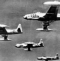 Fighter Jet Against Communists by David Douglas Duncan