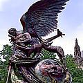 Fighting Angel by Terry Reynoldson