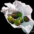 Figs In A Napkin by Richard Ortolano