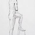 Figure Drawing Study Iv by Irina Sztukowski