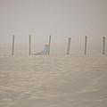 Figure In The Fog - A Moment Earlier by Allen Sheffield
