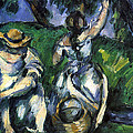 Figures By Cezanne by John Peter