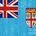 Fiji Flag by Luis Alvarenga