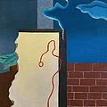Fillia Luigi Colombo, Waiting, 1929 by Everett
