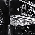 Film Homage Alfred Hitchcock Torn Curtain 1966 Orpheum Theater St. Paul Minnesota 1966 by David Lee Guss