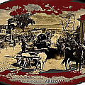 Film Homage Arizona 1940 Lobby Card   Adobe Stage Depot  Old Tucson Arizona 1939-2012 by David Lee Guss