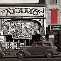 Film Homage Bela Lugosi Shadow Of Chinatown 1936 John Vachon Fsa Alamo Theater Washington D.c. 2010 by David Lee Guss