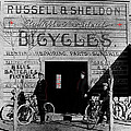 Film Homage Butch Cassidy 1969 Russell And Sheldon Bicycles C.1895 Tucson Arizona 2008 by David Lee Guss