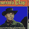 Film Homage Cameron Mitchell Minnesota Clay Lobby Card 1964-2013 by David Lee Guss