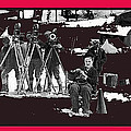 Film Homage Charles Chaplin The Gold Rush 1925 Camera Crew Collage 2010 by David Lee Guss