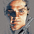Film Homage Close-up James Cagney Angels With Dirty Faces 1939-2014 by David Lee Guss