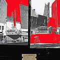 Film Homage Collage Fox Tucson Closed Last Bill  Original Ticket Stub 1984-1974-2012                 by David Lee Guss