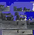 Film Homage Dirty Dingus Magee Collage Number 1 1970-2012 Mescal Arizona by David Lee Guss