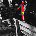 Film Homage Elmer Gantry 2 1960 Street Preacher Armory Park Tucson Arizona by David Lee Guss