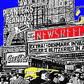 Film Homage Embassy Newsreel Theater 1940 Times Square New York City 2008 by David Lee Guss