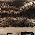 Film Homage End Of The Road 1970 Bisected Car Ghost Town Dos Cabezos Arizona 1967-2008 by David Lee Guss