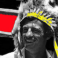 Film Homage Jean-paul Belmondo  Fake Indian Bonnet Love Is A Funny Thing  Old Tucson Az 1969-2008 by David Lee Guss
