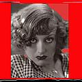 Film Homage Joan Crawford Louis Milestone Rain 1932 Collage Color Added 2010 by David Lee Guss