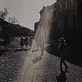 Film Homage Kirk Douglas Posse 1975  Kansas Street Old Tucson Arizona 1984 by David Lee Guss