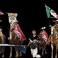 Film Homage Ride Vaquero 1953  2 Hispanic Riders  Rodeo Parade Tucson  Az 2002-2008 by David Lee Guss