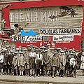 Film Homage The Air Mail  Leader Theater Washington D.c. 1925-2010 by David Lee Guss