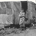 Film Homage The Grapes Of Wrath 1 1940 Family In Shack Perhaps Eloy Arizona 1940-2008 by David Lee Guss