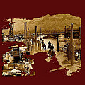 Film Homage The High Chaparral Set Collage Old Tucson Arizona C.1967-2013 by David Lee Guss