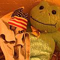 Film Homage The Muppet Movie 1979  Number 2 Froggie Smudge Stick Casa Grande Az 2004-2009 by David Lee Guss