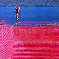Film Noir  Angela Lansbury The Manchurian Candidate 1962 Flag Water Reflection Casa Grande Az 2005 by David Lee Guss