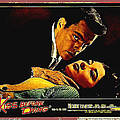 Film Noir Gerd Oswald Robert Wagner A Kiss Before Dying 1956 Poster Color Toning Added 2008 by David Lee Guss