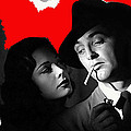Film Noir Jane Greer Robert Mitchum Out Of The Past 1947 Rko Color Added 2012 by David Lee Guss