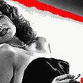 Film Noir Jean Louis Rita Hayworth Gilda 1946 Color Added 2012 by David Lee Guss