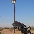 Film Noir Walter Hill Bruce Dern Ryan O'neal The Driver 1978 Car  Telephone Wire Arizona City Az by David Lee Guss