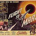 Film Poster Flight To Mars by R Muirhead Art