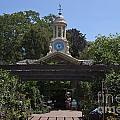 Filoli Clock Tower Garden Shop by Jason O Watson