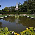 Filoli Garden Pond by Jason O Watson