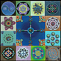 Fimo Mandala by Maya B