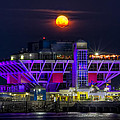 Final Moon Over The Pier by Marvin Spates