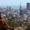 Financial District From Corona Heights by Robert Woodward