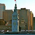 Financial District Lower Market Street San Francisco by DUG Harpster