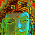 Finding Buddha - Meditation Art By Sharon Cummings by Sharon Cummings