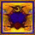 Finding My Happy Place Abstract Healing Art by Omaste Witkowski