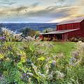 Finger Lakes Farm by Lori Deiter