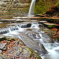 Finger Lakes Waterfall by Frozen in Time Fine Art Photography