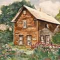 Finlayson Old House by Susan Crossman Buscho
