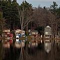 Finn Village On Demond Pond - Rutland Massachusetts by John Black
