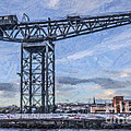 Finnieston Crane Glasgow by Liz Leyden