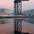 Finnieston Crane Reflections by Maria Gaellman