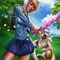 Fionna And Cake by Pete Tapang